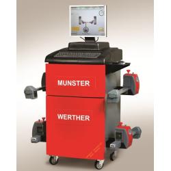 3008bT_Prof - MUNSTER - urządzenie do pomiaru i regulacji geometrii kół