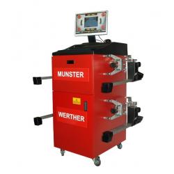 5000bT_Seros - MUNSTER - urządzenie do pomiaru i regulacji geometrii kół - kompaktowe głowice