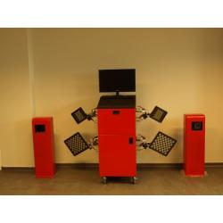 9000-3D_Drive - MUNSTER instrument do pomiaru i regulacji geometrii kół 3D, zabudowa przejazdow